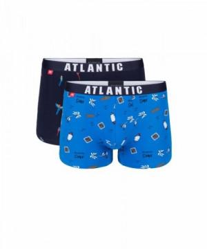 Atlantic 2GMH-003 Pánské boxerky 2 ks XXL vícebarevná