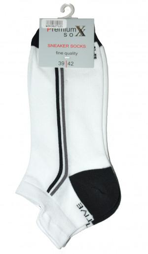 Dámské ponožky 36271 Premium Sox - WiK šedá 43/46