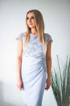 Dámské šaty Silvana model 131417 - Jersa šedá