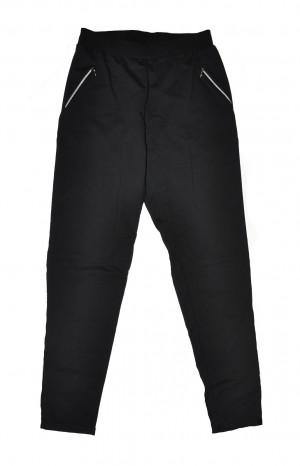Dámské kalhoty De Lafense 604 Just Černá