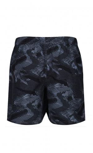 Pánské plavkové šortky Reebok 71020 Townley Swim Short studený šedý potisk