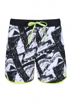 Pánské plavkové šortky Reebok 71034 Ferdy Swim Short Černá