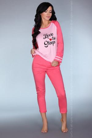Dámské pyžamo Malblea - LivCo Corsetti růžová L/XL