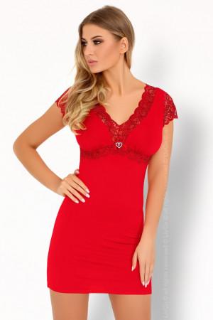 Sexy košilka Sive red - LivCo Corsetti červená S/M