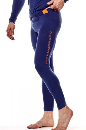Pánské termo spodky 22970 Safe 59x blue - HENDERSON tmavě modrá