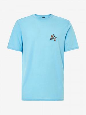 Space Polygon Triko Oakley Modrá