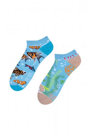 Unisex ponožky Spox Sox Akwarium 36-46 vícebarevný 36-39