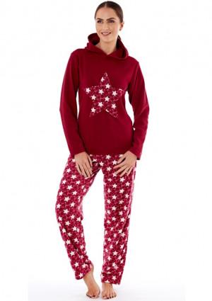 Dámské pyžamo Fordville LN000660 XXL/3XL Rubínová XXL/3XL Rubínová