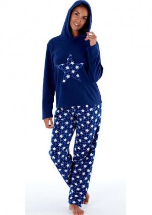 Dámské pyžamo Fordville LN000660 XXL/3XL Tm. modrá XXL/3XL Tm. modrá