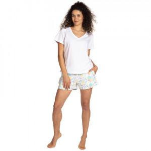 Dámské pyžamo L-1402PY bílý