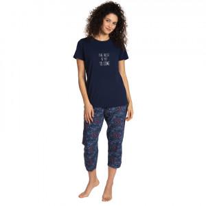 Dámské pyžamo L-1374PY námořnická modrá