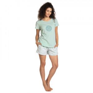 Dámské pyžamo L-1401PY SVĚTELNÝ TYRKYS