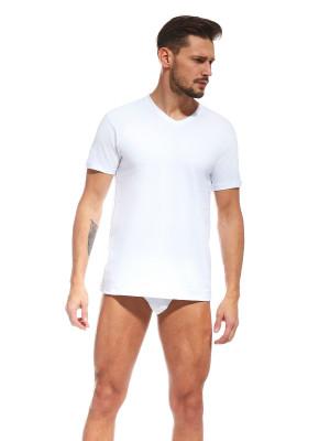 Pánské tričko Cornette 201 New 4XL-5XL bílý 5XL