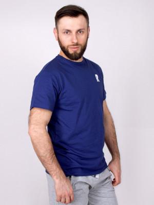 Pánské tričko YO! PM-07  R námořnická modrá