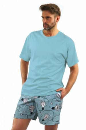 Sesto Senso 2431/6 Pánské pyžamo XXL mátová
