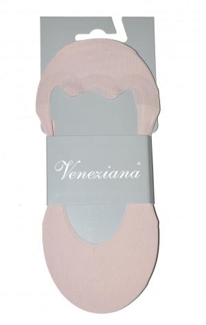 Dámské ponožky baleríny Veneziana Saba Silicon Béžový Univerzální