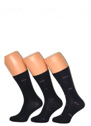 Pánské ponožky Cornette Premium A49 A'3 39-47 námořnická modrá 42-44
