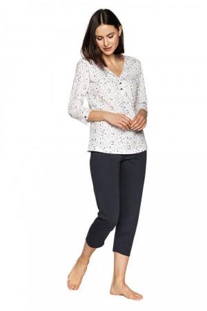 Dámské pyžamo 555 - CANA bílá