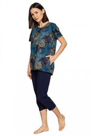 Dámské pyžamo 562 - CANA tmavě modrá
