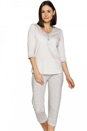 Dámské pyžamo 552 - CANA béžová