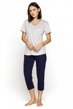 Dámské pyžamo 548 plus - CANA bílá
