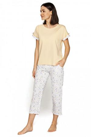 Dámské pyžamo 558 - CANA žlutá