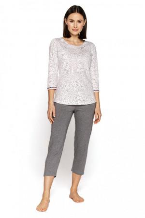 Dámské pyžamo 565 plus - CANA bílá