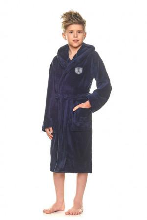 Chlapecký župan Frank temně modrý modrá 146