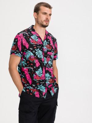 Miami Tropical Košile Tommy Jeans Černá
