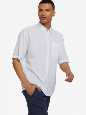 Košile Tom Tailor Denim Bílá