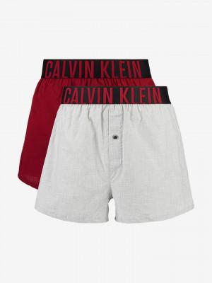 Boxerky 2 ks Calvin Klein Červená