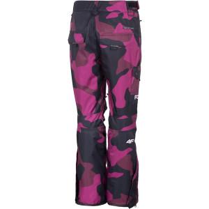 Dámské lyžařské kalhoty WOMEN'S SNOWBOARD TROUSERS SPDS001 FW20 - 4F