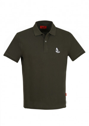 Pánské polo tričko John Frank JFTPOLO09 L Černá