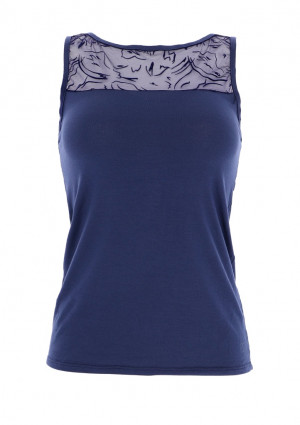 Dámské tričko GD256 - Cotonella tmavě modrá
