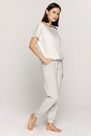 Cana 551 Dámské pyžamo S Béžový Melanž