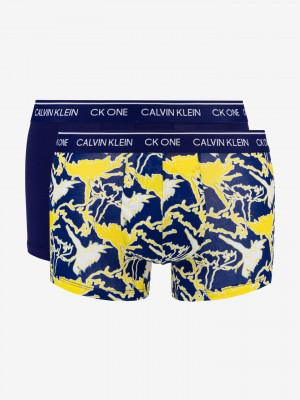 Boxerky 2 ks Calvin Klein Modrá
