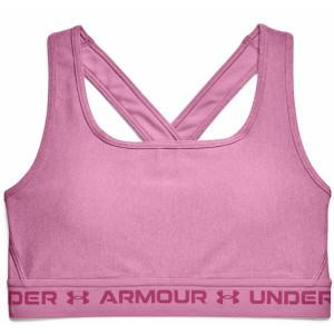 Dámské podprsenky UA Crossback Mid Heather Bra SS21 - Under Armour