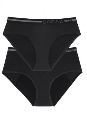 Dámské menstruační kalhotky Doina D000159CO009-2X0010 L Černá
