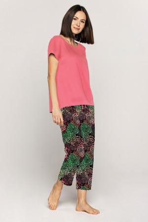 Dámské pyžamo Cana 568 kr/r 3XL korálově černá 3XL
