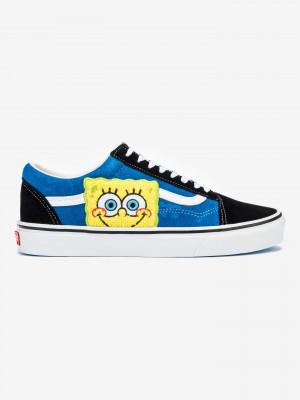 SpongeBob Old Skool Tenisky Vans Modrá