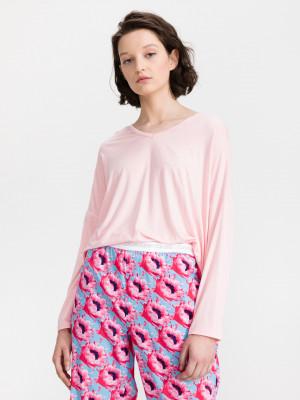 Triko na spaní Calvin Klein Růžová