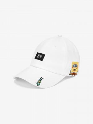 SpongeBob Kšiltovka Vans Bílá