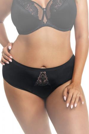 Dámské kalhotky 629 black - GORSENIA černá