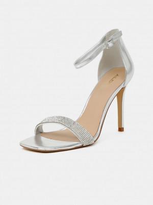 ALDO stříbrné sandály Afendaven -