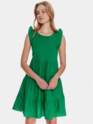 TOP SECRET zelené letní šaty
