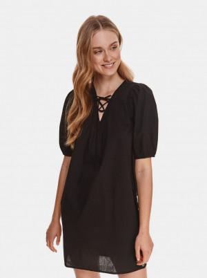 TOP SECRET černé šaty