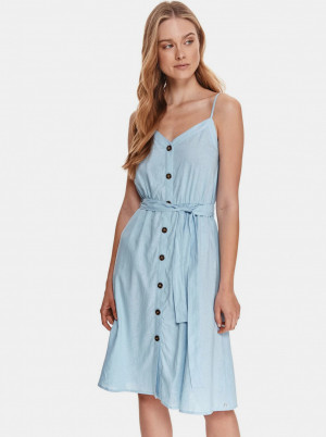 TOP SECRET světle modré šaty