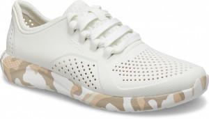Dámské smetanově bílé tenisky Crocs - 36-37