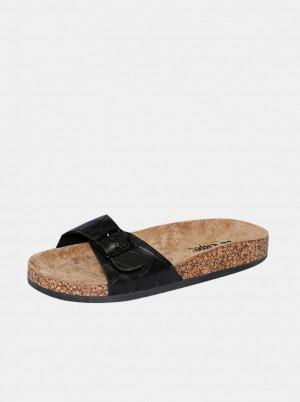 Lee Cooper černé pantofle -