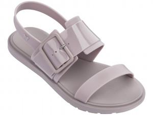 Zaxy šedo-fialové sandály Rush Sand Fem Nude -